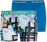 Bjorn Borg 2 PACK Shorts aquarius