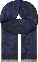 Etro Tonal Floral Silk Scarf