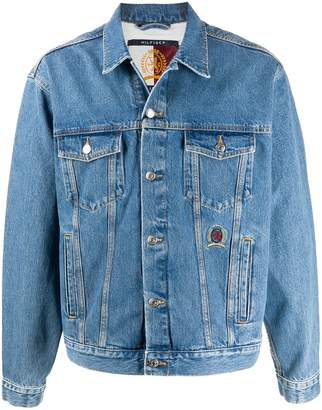 Tommy Hilfiger Rear Logo Denim Jacket