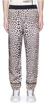 3.1 Phillip Lim Reversible leopard print satin pajama pants