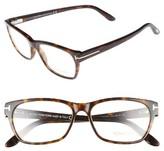 Tom Ford Women's 54Mm Optical Glasses - Dark Havana
