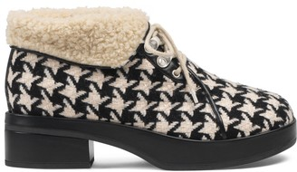 Gucci Houndstooth bootie