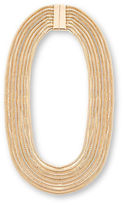 Steve Madden Layered Ombre Snake Chain Necklace
