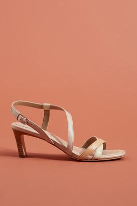 Bernardo Charlotte Strappy Heels By in Beige Size 6