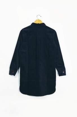 Lowie Navy Corduroy Shirt Dress - M
