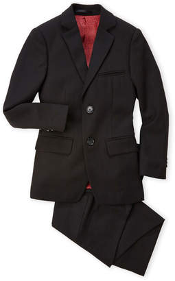 Isaac Mizrahi Boys 8-20) Solid Two-Piece Wool-Blend Suit