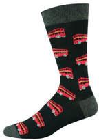 Bamboozld Double Decker Bus Sock