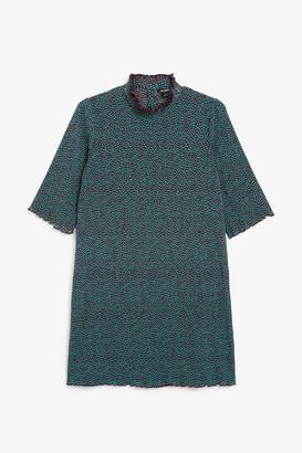 Monki Shirred dress