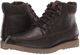Lucky Brand Stanford (Black Bomber Jacket Leather) Men's Boots
