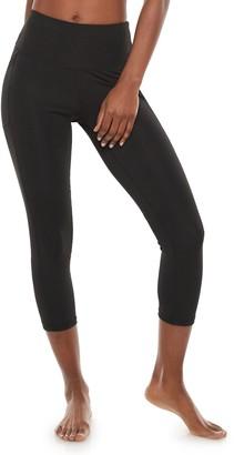 Adrienne Vittadini Women's Basic Capri Leggings