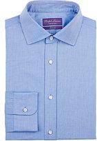 Ralph Lauren Purple Label Men's Bond Jacquard Shirt-BLUE