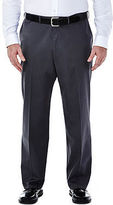 Haggar Premium No Iron Classic-Fit Flat-Front Khakis - Big & Tall
