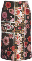 Ellery Preorder Black And Rose Dynasty Skirt