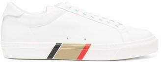 Burberry Rangleton Icon-stripe Leather Trainers - White