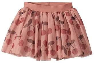 HUXBABY Cherry Tulle Skirt (Infant/Toddler)