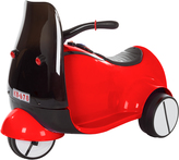 Red Three-Wheel Motorcycle Euro Trike Ride-On