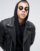 Asos Round Glasses with Eye Print