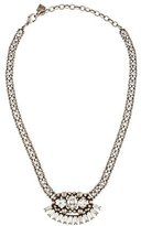 Dannijo Tracy Crystal Bib Necklace