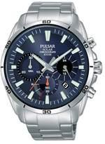 Pulsar Solar Men's Stainless Steel Bracelet Watch