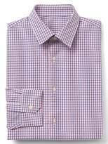 Gap Stretch Poplin mini tattersall slim fit shirt