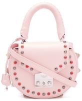 SALAR Women's Mimi Ring Bag Rosa