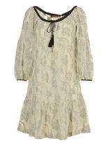 Max Mara Sheer Cotton And Silk Dress