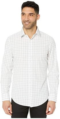 Mizzen+Main Leeward Bateman Performance Sport Shirt (White) Men's Clothing