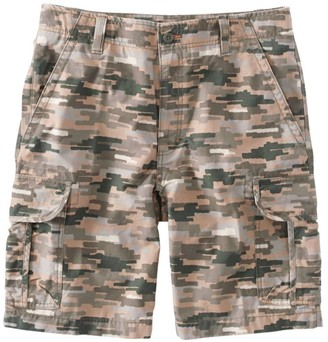 L.L. Bean Men's L.L.Bean Allagash Cargo Shorts, Natural Fit Camouflage