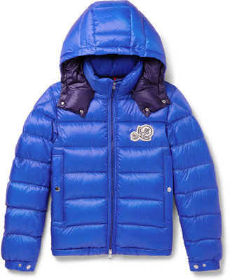 Moncler Bramant Quilted Shell Hooded Down Jacket