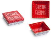 Rosanna Vintage Holiday Christmas Greetings Tray