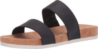 Rialto Tipsy Slide Sandal Black Size 7.5