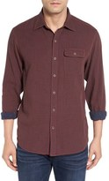 Tommy Bahama Men's 'Havana Squared' Regular Fit Microcheck Sport Shirt