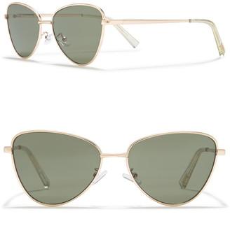Le Specs 57mm Echo Sunglasses