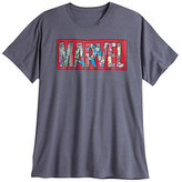 Disney Marvel Comics Logo Tee for Men - Plus Size