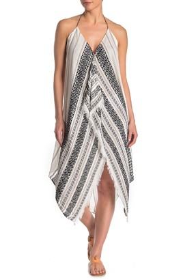 Pool To Party Jacquard Print Cover-Up