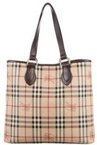 Burberry Haymarket Check Onslow Tote