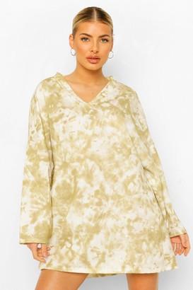 boohoo Printed V Neck Sweater