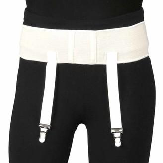 Truform Garter Belt for Compression Stockings, White, Small