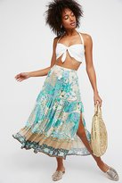 Cloud Dancer Maxi Split Skirt by Spell and the Gypsy Collective at Free People