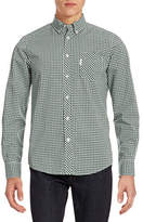 Ben Sherman Gingham Cotton Sport Shirt