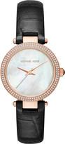 Michael Kors Mini Parker Rose Gold Tone Strap Watch
