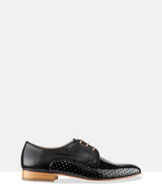 Habbot. Women's Black Brogues & Loafers - Juno Brogue Lace-ups - Size One Size, 39 at The Iconic