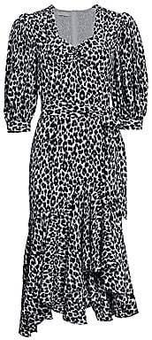 Michael Kors Women's Asymmetric Silk Rumba Dress - Size 0