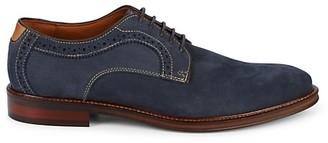 Johnston & Murphy Warner Suede Derby Shoes
