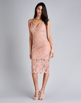 Bardot Pencil Lace Dress
