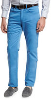 Peter Millar Crown Five-Pocket Stretch Sateen Pants
