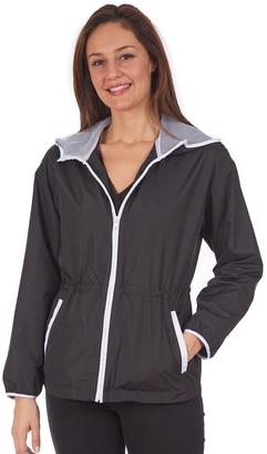 Fleet Street Women's Hooded Mesh Jacket