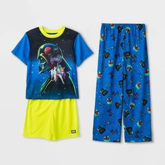 Star Wars Boys' 3pc Pajama Set -
