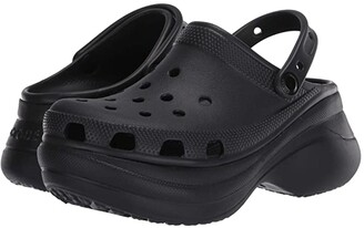 Crocs Classic Bae Clog (Black) Women's Clog Shoes