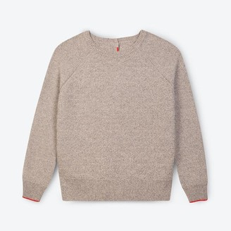 Lowie Grey Marl Recycled Cashmere Jumpigan - S